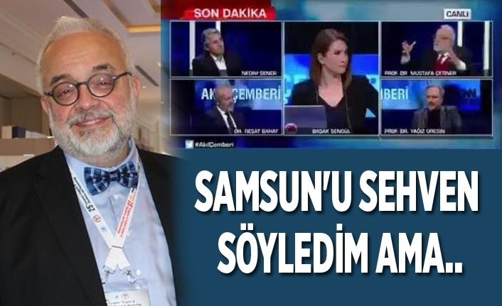 Samsun'da süper bulaştırıcı var diyen profesör Samsun için yeni açıklamalar yaptı