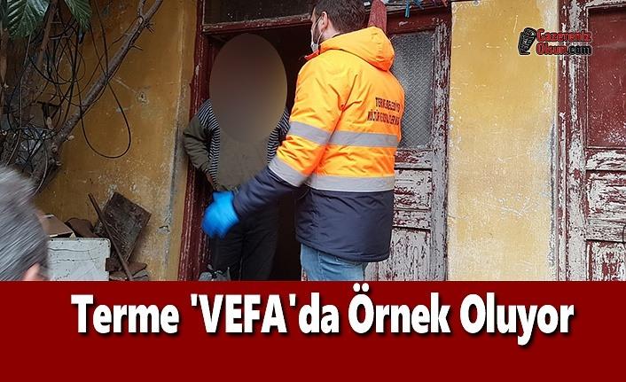 Terme 'VEFA'da Örnek Oluyor