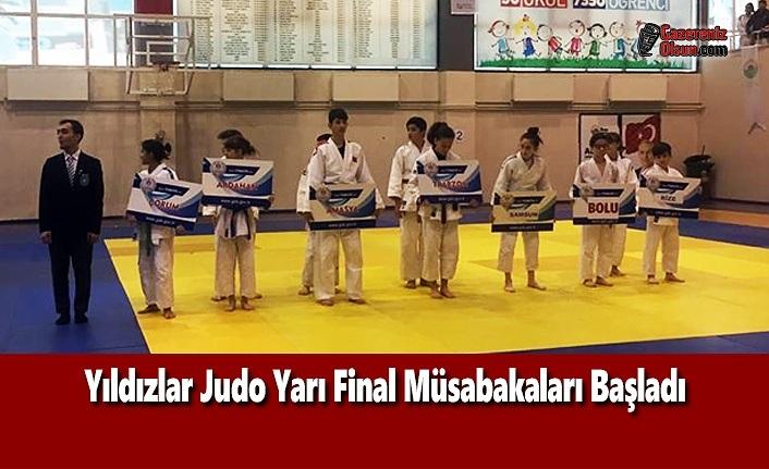 Yıldızlar Judo Yarı Final Müsabakaları Başladı