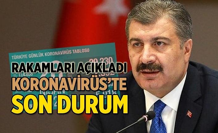 Türkiye'de iyileşen hastaların sayısı 44 bini geçti, Günlük Koronavirüs Tablosu