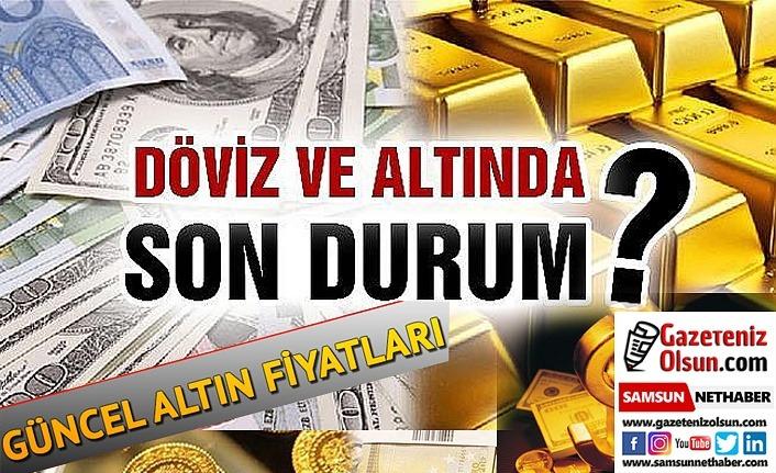 Samsun'da altın fiyatları, döviz güncel durum (15 Nisan Çarşamba)