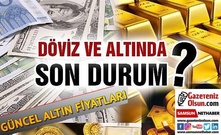 Altının gram fiyatı bugüne düşüşle başladı, Samsun altın fiyatları, döviz ne kadar!