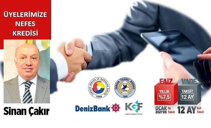 Başkan Sinan Çakır: Nefes Kredisi Projesi başladı