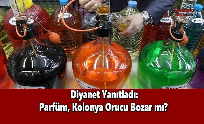 Diyanet Yanıtladı: Parfüm, Kolonya Orucu Bozar mı?