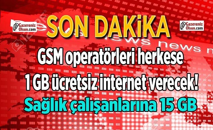 GSM operatörleri herkese ücretsiz internet verecek!