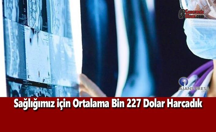 Sağlığımız için Ortalama Bin 227 Dolar Harcadık