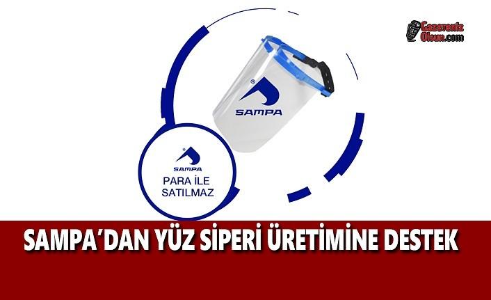 Sampa'dan Yüz Siperi Üretimine Destek