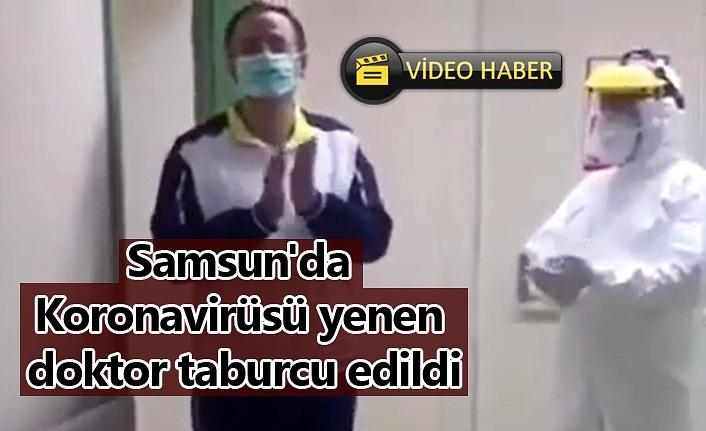 Samsun'da Koronavirüsü yenen doktor taburcu edildi - Bafra Haber
