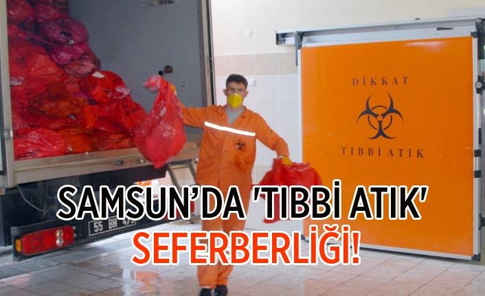 Samsun'da tıbbi atıklar zararsız evsel atığa dönüştürülüyor