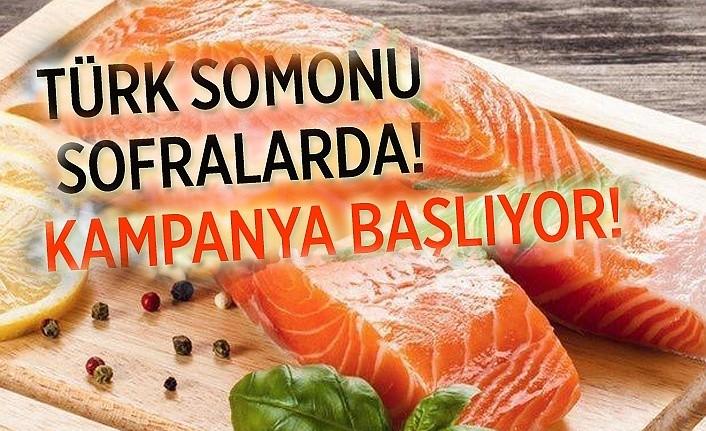 Tarım ve Orman Bakanlığı'ndan Türk Somonu Kampanyası