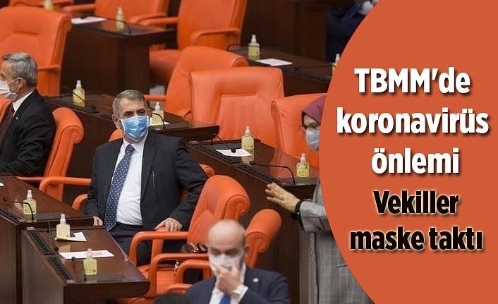 TBMM'de koronavirüs önlemi