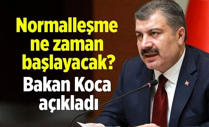 Türkiye'de normalleşme ne zaman başlayacak?