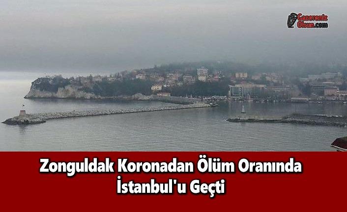 Zonguldak Koronadan Ölüm Oranında İstanbul'u Geçti