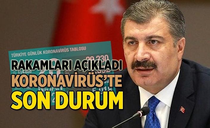 10 Mayıs Türkiye Günlük Koronavirüs Tablosu