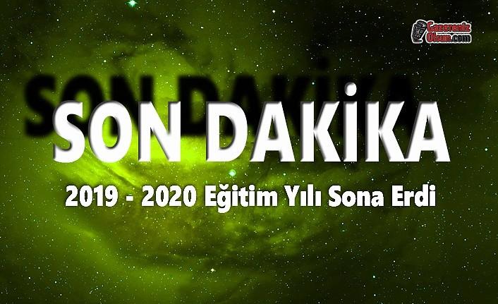 2019 2020 Eğitim Yılı Sona Erdi