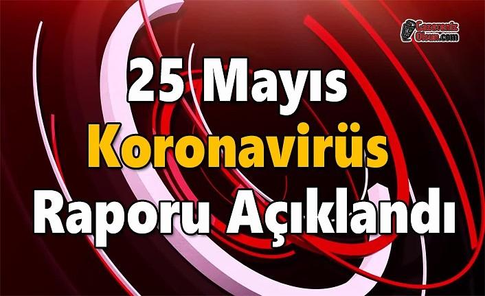 25 Mayıs Koronavirüs Raporu Açıklandı