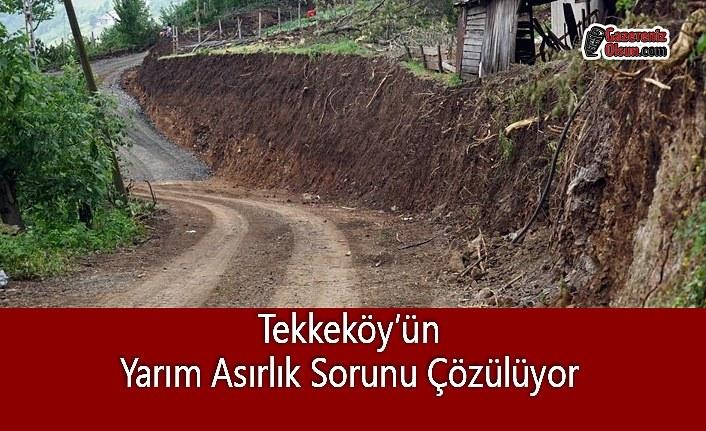 Tekkeköy'ün Yarım Asırlık Sorunu Çözülüyor
