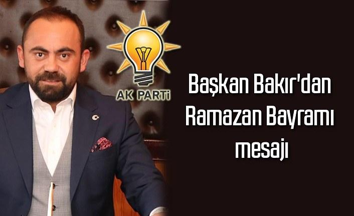 Başkan Onur Bakır'dan Ramazan Bayramı mesajı