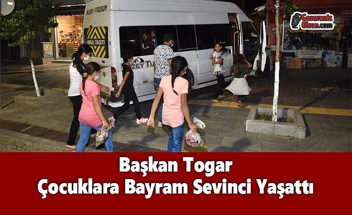 Başkan Togar Çocuklara Bayram Sevinci Yaşattı