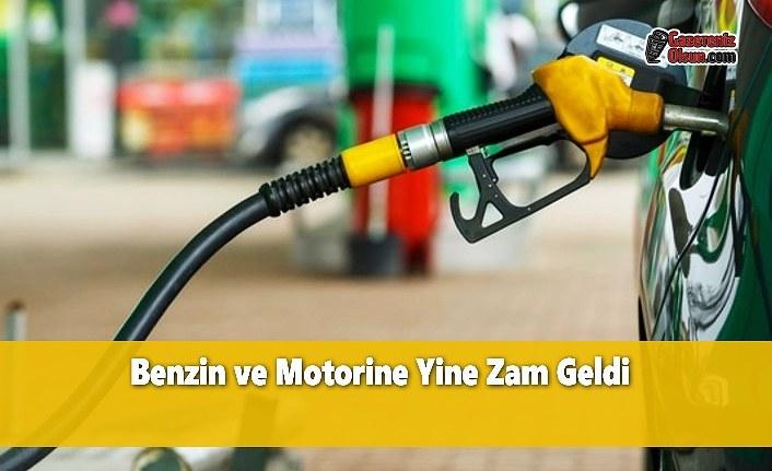 Benzin ve Motorine Yine Zam Geldi