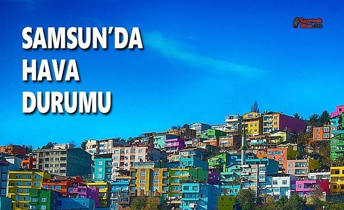 Bugün Samsun'da Hava Nasıl Olacak? 2 Mayıs Cumartesi Samsun Hava Durumu