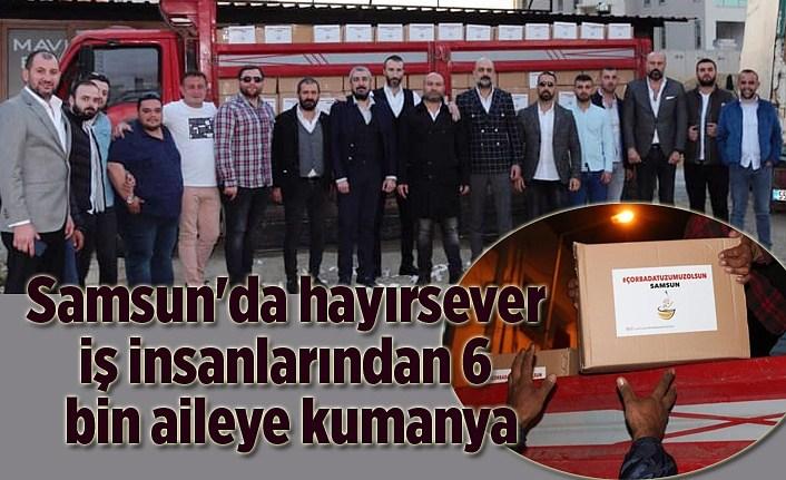 'Çorbada Tuzumuz Olsun' kampanyasıyla ihtiyaç sahibi ailelere destek