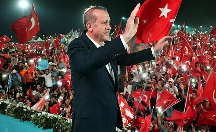 Cumhurbaşkanı Erdoğan'dan 'Biz bu yoldan dönmeyeceğiz' Paylaşımı!