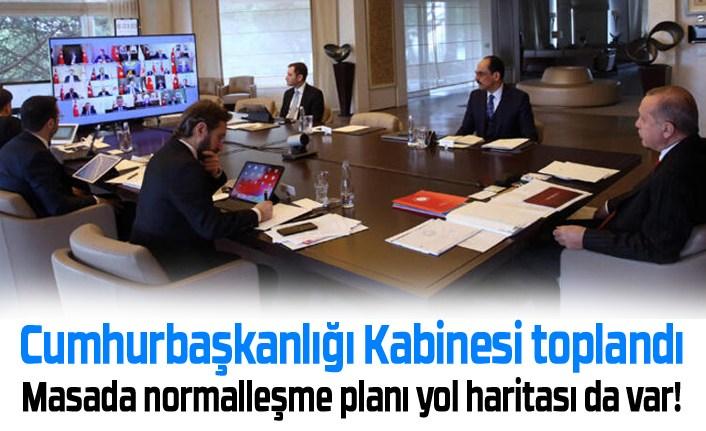 Cumhurbaşkanlığı Kabinesi toplandı, Başkan Erdoğan açıklama yapacak!