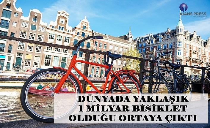 Dünya da yaklaşık kaç bisiklet var?