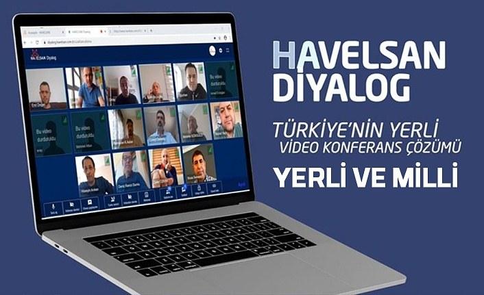 HAVELSAN video konferans ürünü geliştirdi