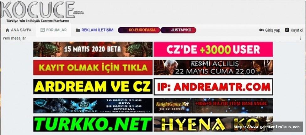 Ko Cuce Knight Online pvp - Online server haberleri