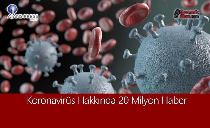 Koronavirüs Hakkında 20 Milyon Haber