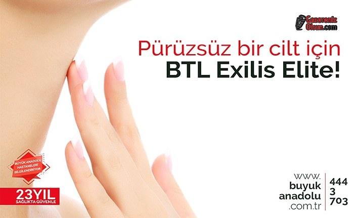 Pürüzsüz bir cilt için BTL Exilis Elite!