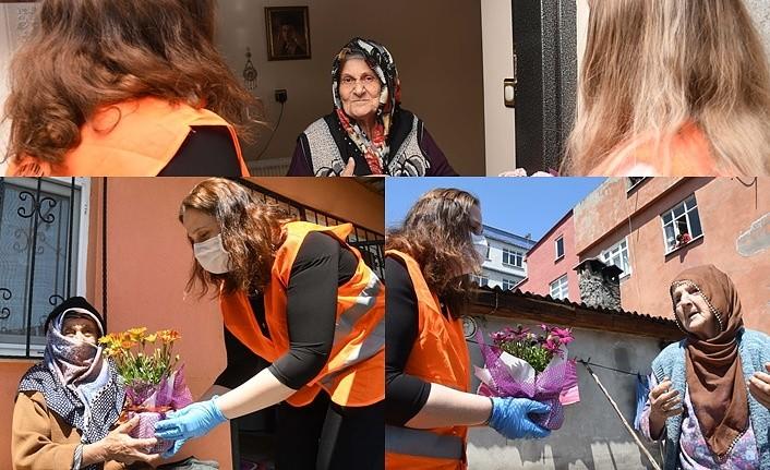 Samsun'da 'Anneler Günü' sürprizi