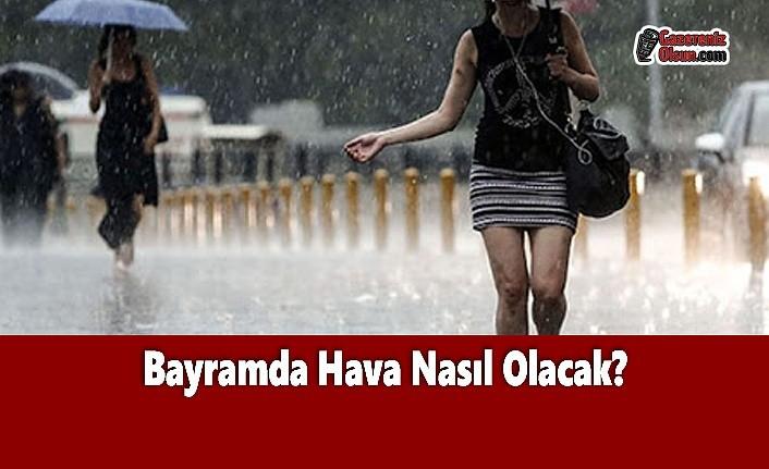 Samsun'da Bayramda Hava Nasıl Olacak