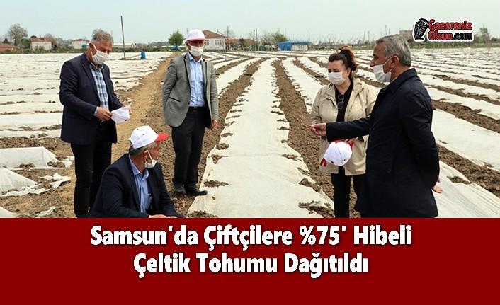 Samsun'da Çiftçilere %75' Hibeli Çeltik Tohumu Dağıtıldı