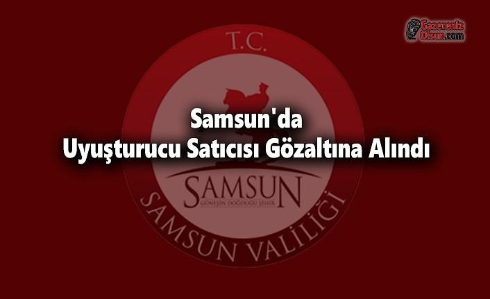 Samsun'da Uyuşturucu Satıcısı Gözaltına Alındı