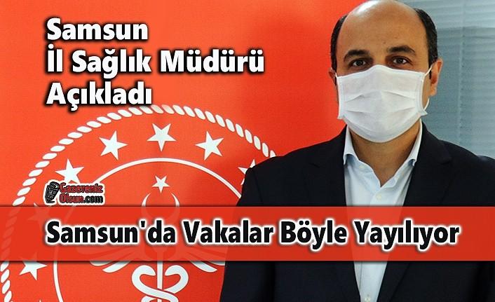 Samsun İl Sağlık Müdürü Açıkladı Samsun'da Vakalar Böyle Yayılıyor