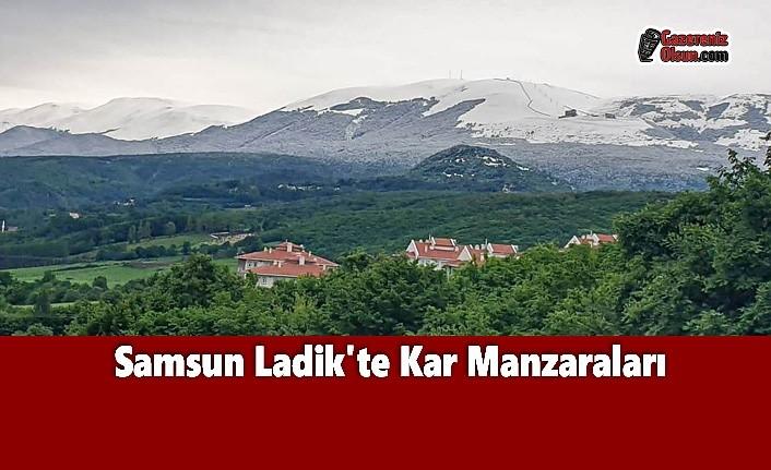 Samsun Ladik'te Kar Manzaraları
