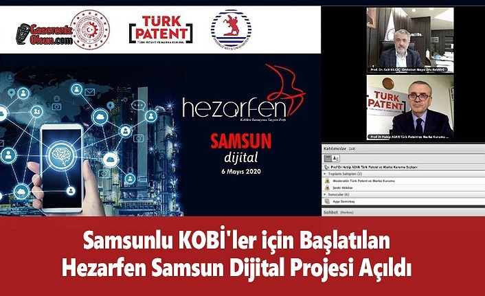 Samsunlu KOBİ'ler için Başlatılan Hezarfen Samsun Dijital Projesi Açıldı