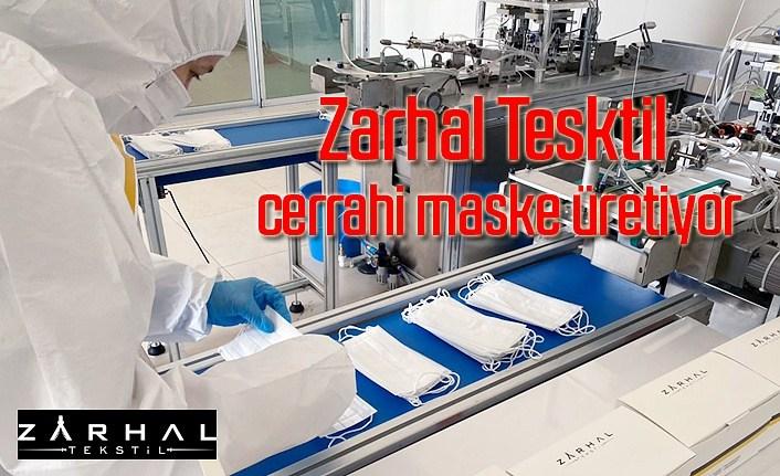 Zarhal Tesktil cerrahi maske üretiyor - Samsun Haber