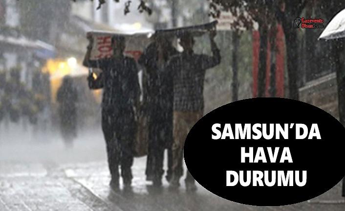 15 Haziran Samsun Hava Durumu, Samsun'da Hava Durumu