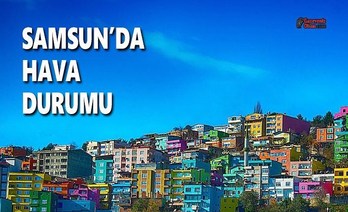 8 Haziran Samsun Hava Durumu, Samsun'da Hava Durumu