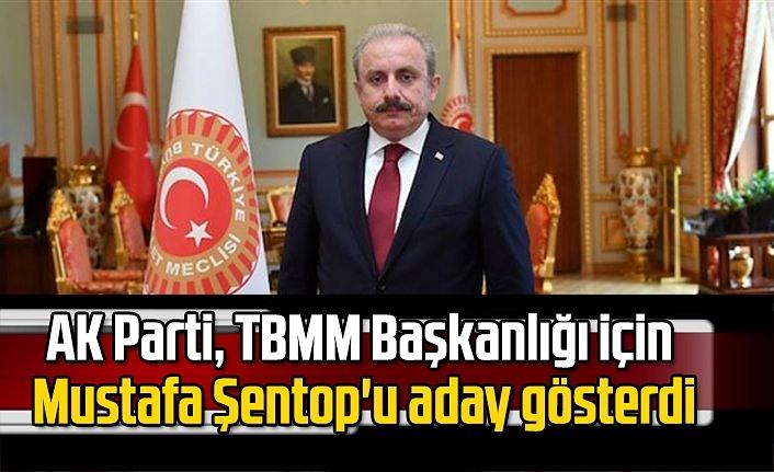 AK Parti'nin TBMM Başkanı adayı Mustafa Şentop oldu