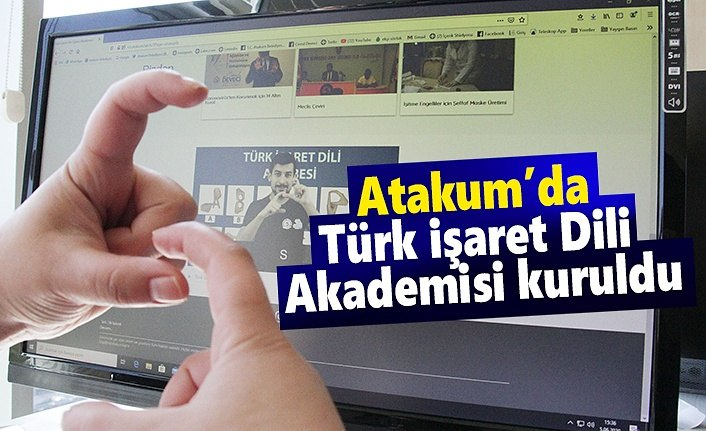 Atakum Belediyesi Türk  işaret Dili'ni öğretecek