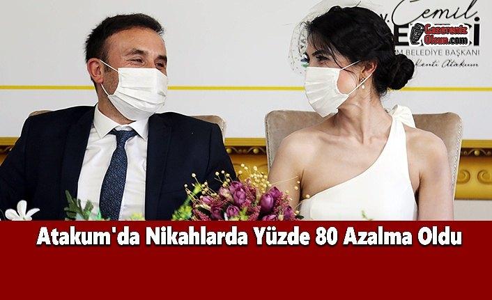 Atakum'da Nikahlarda Yüzde 80 Azalma Oldu