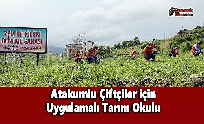 Atakumlu Çiftçiler için Uygulamalı Tarım Okulu