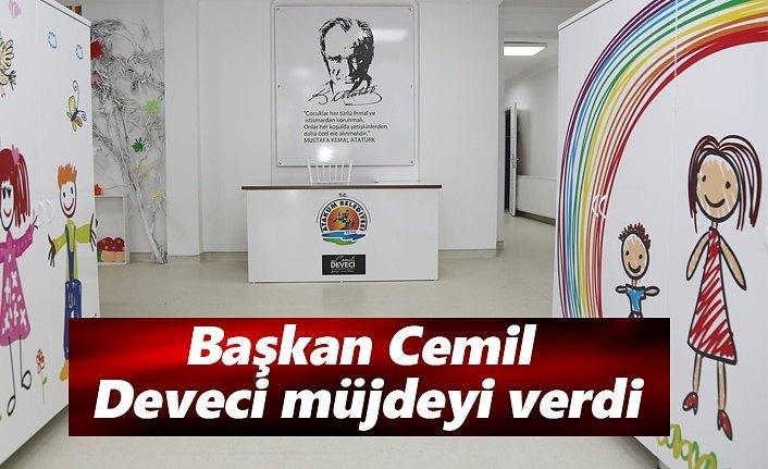 Başkan Cemil Deveci müjdeyi verdi