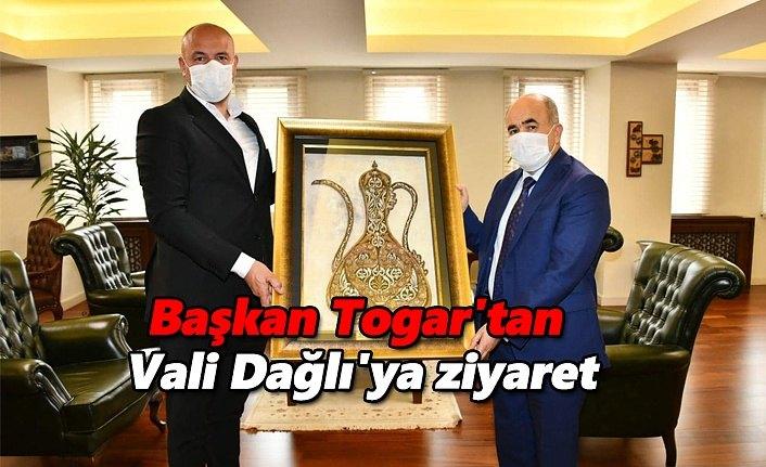 Başkan Togar'tan Vali Dağlı'ya ziyaret