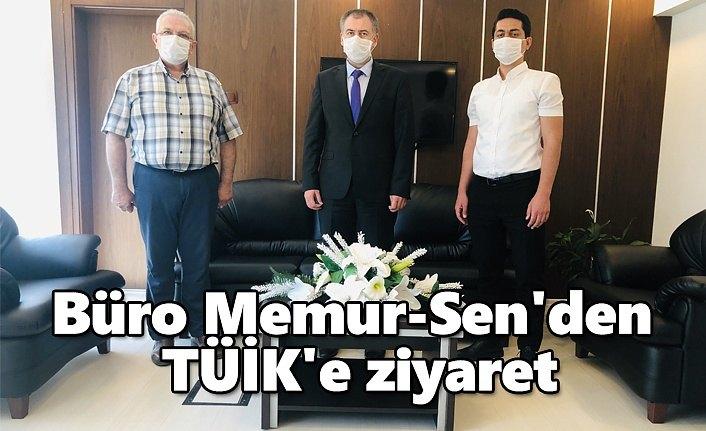 Büro Memur-Sen'den TUİK'e ziyaret